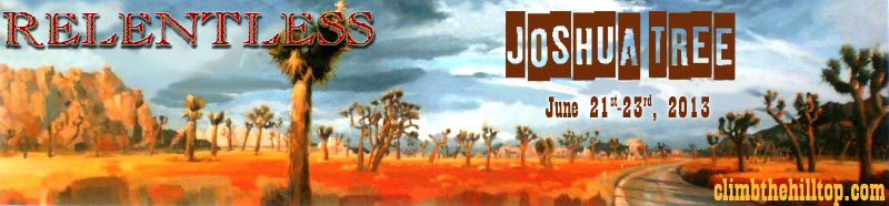 Joshua Tree 2013 Logo